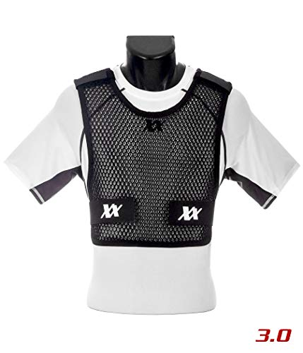 Maxx-Dri Vest 3.0 Body Armor Cooling Ventilation Airflow Tactical Vest (Black, XL/XXL 1-Pack)