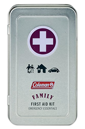 Coleman 82 Piece Family First Aid Kit for camping, travel or sports bag