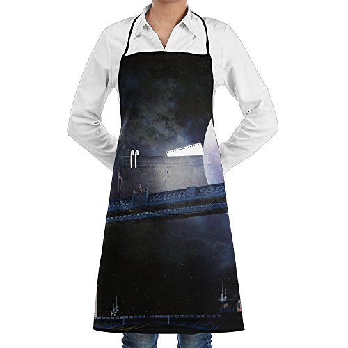 Tower Bridge London England Fashion Waterproof Durable Apron With Pockets For Women Men Chef -