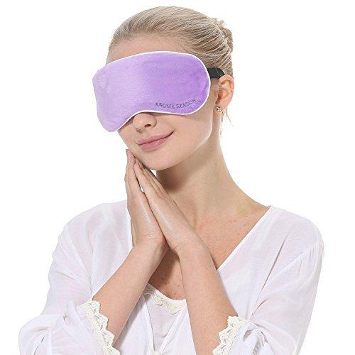 Aroma Season USB Heat Eye Mask Heated Pad Eye Compress Warm Compress For Eyes, blepharitis Eye Mask Heated (Violet)