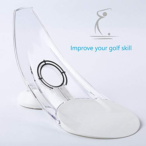 BOBURACN Golf putt Trainer and Golf Training aids for Putting Green Indoor-Nice Golf Gift for - Training Putt