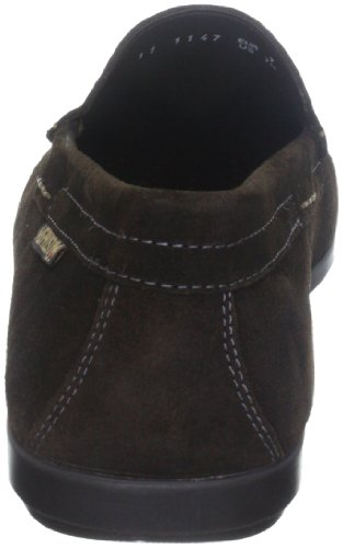 Mephisto ALGORAS VELOURS 9851 DARK BROWN P5051586 - Zapatos de cuero nobuck para hombre Marrón