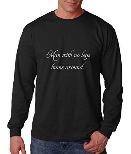 Bum Men's Longsleeves Tees (Black) - 7