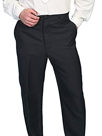 1920s Style Men's Pants & Plus Four Knickers Highland Pants $84.00 AT vintagedancer.com