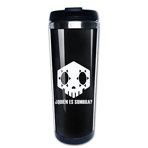 Who Is Sombra Overwatch Stainless Steel Vacuum Coffee Cup