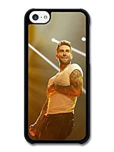 AMAF ? Accessories Adam Levine Maroon 5 Singer Live Concert with Spotlights case for iPhone 5C