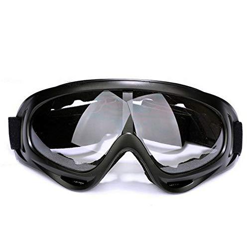 Óculos Goggles Airsoft Paintball Moto Esqui (Transparente)