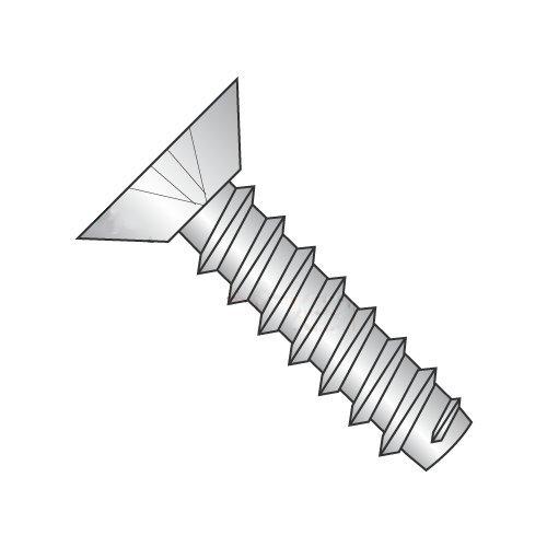 "#6 x 1/4"" Type B Self-Tapping Screws/Phillips/Flat Undercut Head / 18-8 Stainless Steel (Carton: 5,000 pcs)"