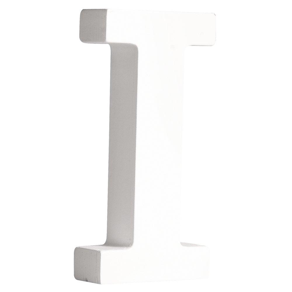 RAYHER 62660000MDF della Lettera I, Weiß, 11cm, Stà ¤ rke 2cm Weiß 11cm Stà € rke 2cm RAYHER HOBBY 62-660-000