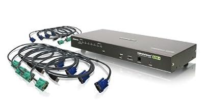 IOGear 8-Port USB PS/2 Combo KVMP Switch
