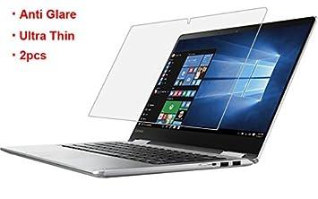 [2 Pack] Lenovo Yoga 710 – 14 anti deslumbramiento mate acabado todo Protector de