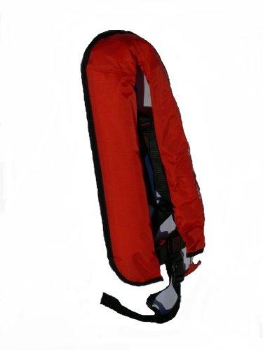 Vollautomatische Rettungsweste Schwimmweste in Rot 150N und Füllkit