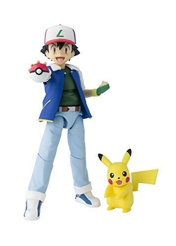 S. H. Figuarts Pokémon Ash Ketchum  ABS & PVC painted action figure 5