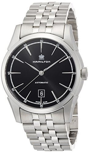 Hamilton 汉密尔顿Men's 'American Classic Spirit Of Liberty' Swiss Automatic Stainless Steel Dress Watch
