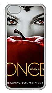 iCustomonline Once Upon A Time Plastic Transparent Hard Back Shell for ipod touch 4 touch 4