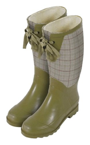 [Laura Ashley 3A074483 Contemporary Wellington Waterproof Boot, Keynes Burgundy, Size 6.5] (Contour Designs Costumes)