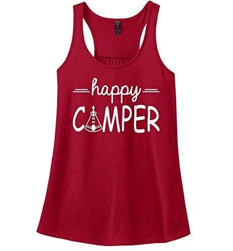 Comical-Shirt-Ladies-Happy-Camper-Cute-Hiking-Camping-Trip-Graphic-Tee-Racerback
