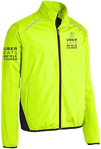 Qraphic Tee Uber Eats Jacket, Bicycle Courier, Food Delivery, Uber Jacket.