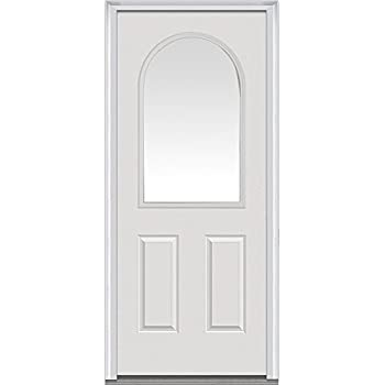 National Door Company Z000734r Steel Primed Right Hand In Swing