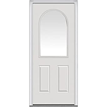 Delicieux National Door Company Z000734R Steel Primed, Right Hand In Swing, Prehung  Front Door