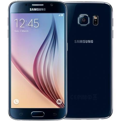 Samsung GALAXY S6 G920 32GB Unlocked GSM 4G LTE Octa-Core Smartphone - Black Sapphire by Samsung