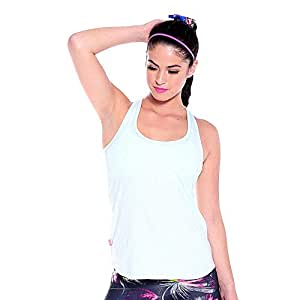Tonic Off White Sport Top For Women