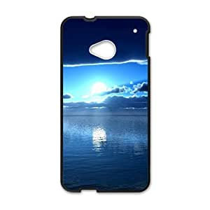 Blue Sky And Sun Creative Cell Phone Case For HTC M7