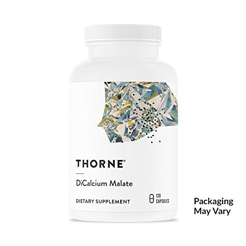 Thorne Research - DiCalcium Malate - Concentrated Calcium Supplement with DimaCal for Bone Density Support - 120 Capsules (Bone Density Support)