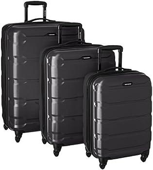 Samsonite 3-Pc. Omni Hardside Luggage Nested Spinner Set (Black)