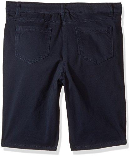 Nautica Girls Plus Size' Five Pocket Sateen Bermuda Short, Su Navy, 18.5