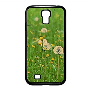 Field Of Flowers Spring Watercolor style Cover Samsung Galaxy S4 I9500 Case (Spring Watercolor style Cover Samsung Galaxy S4 I9500 Case)