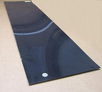 "Nylon 6//6 Extruded Sheet Black .500/"" x 12/"" x 12/"" 1//2/"""