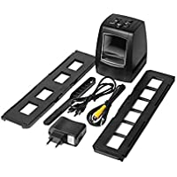 Foto 3600dpi USB escáner de Diapositivas de película de 35 mm Visor Negativo copiadora 5MP convertidor