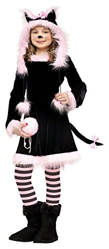 [Fun World Pretty Kitty Child Costume Large (12-14) by Fun World] (Child Pretty Kitty Costumes)