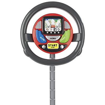 CASDON Sat Nav Steering Wheel: Toys & Games