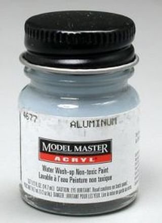 Aluminum Testors Acrylic Plastic Model Paint ()