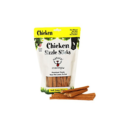 Cheap Chicken Sizzle Sticks Chicken Jerky Dog Treats Product of USA Smells Great