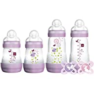MAM Gift Set, Best Pacifiers and Baby Bottles for Newborn...