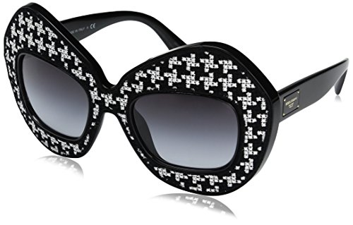Dolce-Gabbana-Womens-Injected-Woman-Sunglass-0DG6105-Round-Sunglasses