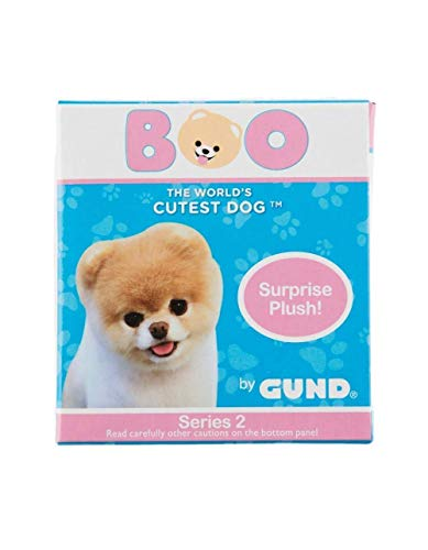 GUND 4061287 World's Cutest Dog Boo Surprise Stuffed Animal Plush Blind Box Series #2: Animal Theme, Multicolor, 3