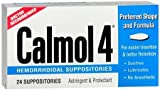 Cheap Calmol 4 Suppositories 24 (3 Pack) [Health and Beauty]