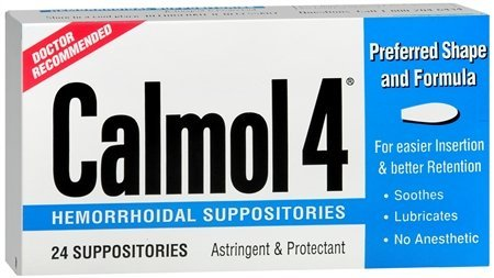 Calmol Suppositories Pack Health Beauty product image
