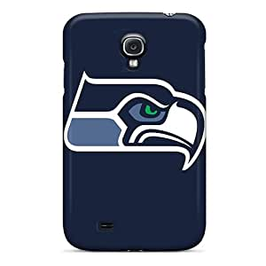 Premium Protection Seattle Seahawks Case Cover For Galaxy S4- Retail Packaging