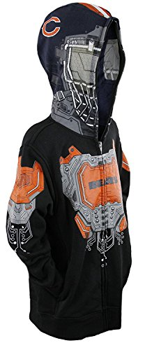 Chicago Bears Boys Masked Hoodie