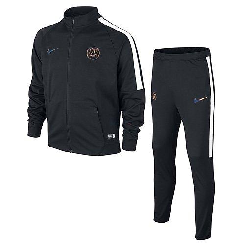 Officiel De Sortie Parcourir La Vente Nike Performance DRY SQAD SUIT - Survêtement - black/black/cone/cone QQgc7hrGl