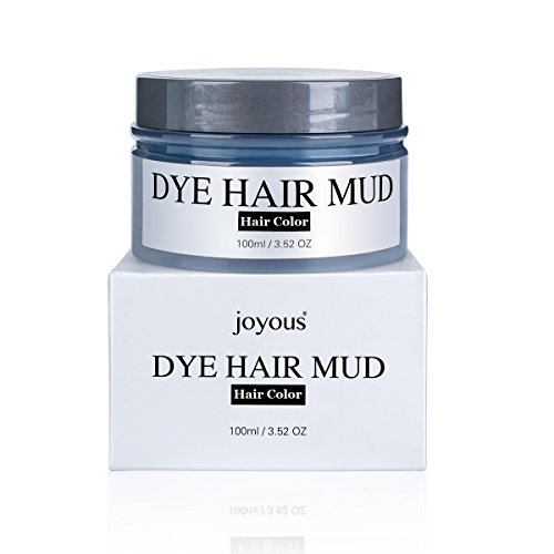 Professional Temporary Dye Hair Mud Highlights Instant Hair Color Cream Touch Up Sharon Hairstyle DIY (Gold)