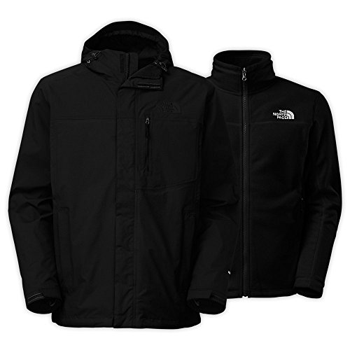 Face Coat North Winter (The North Face Men's Carto Triclimate Jacket Black Size XX-Large)