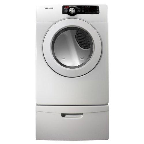 Samsung DV361GWBEWR 7.3 Cu. Ft. White Stackable Gas Dryer