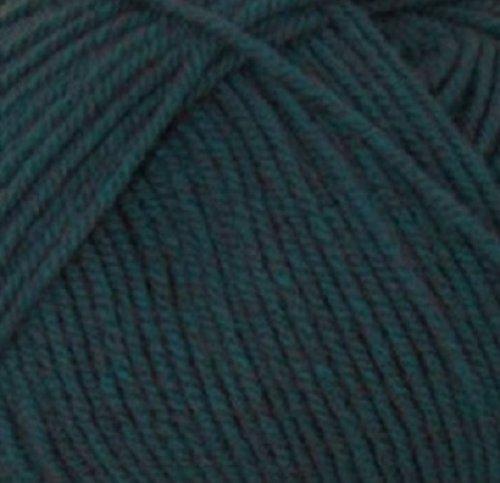Aran 400g With Wool ,Woolcraft Yarn, 30 Colour's (Kingfisher Tweed 825) by Little Wool - Shops Tweed