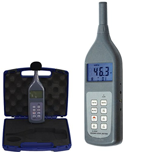 Sound Level Meter Decibel Voice Noise Dosimeter Measurement 30 ~ 130 db with Memory SL-5868P